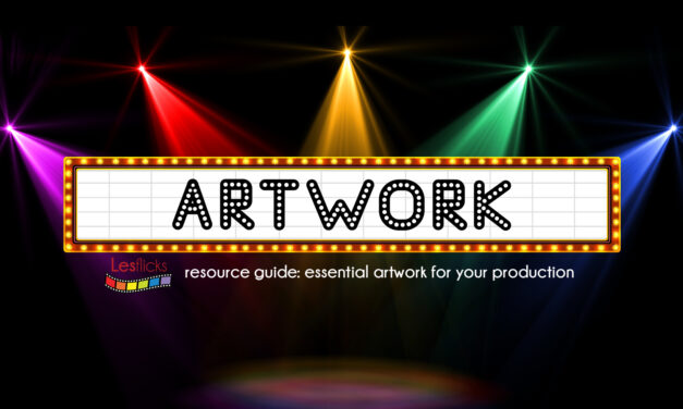 Essential artwork for your production