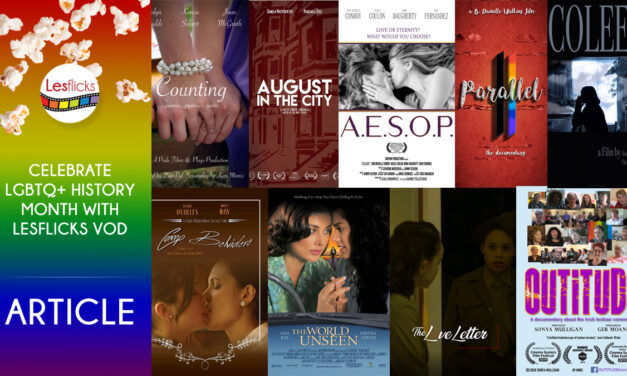 Celebrate LGBTQ+ History Month with Lesflicks VOD