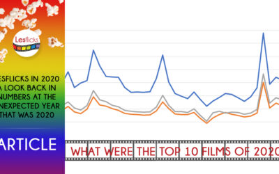 Lesflicks in 2020 – a look back in numbers
