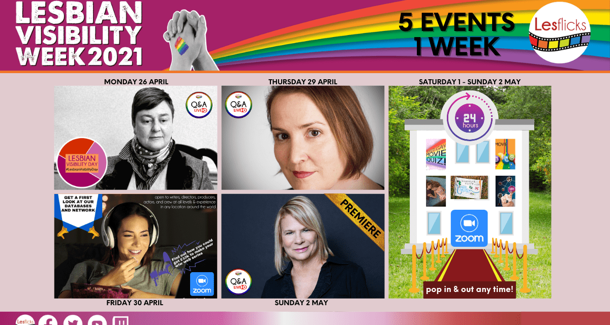 Lesflicks Proudly Presents 24-hour Extravaganza and Many More Exciting Events to Celebrate Lesbian Visibility Week