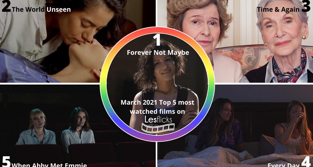 Lesflicks VOD Most Watched – March 2021